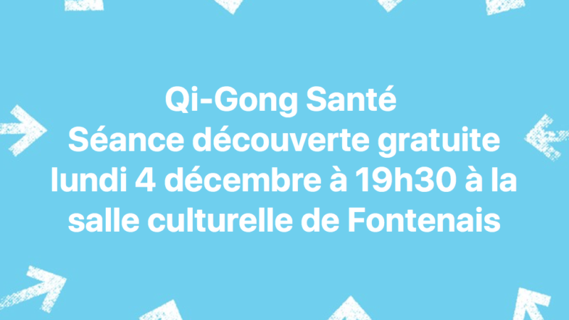 Une séance à Fontenais pour découvrir le Qi-Gong